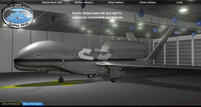 NASA Global Hawk 3D Model (page 2) - Pics about space